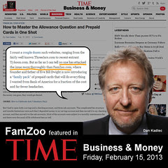 FamZoo featured in TIME