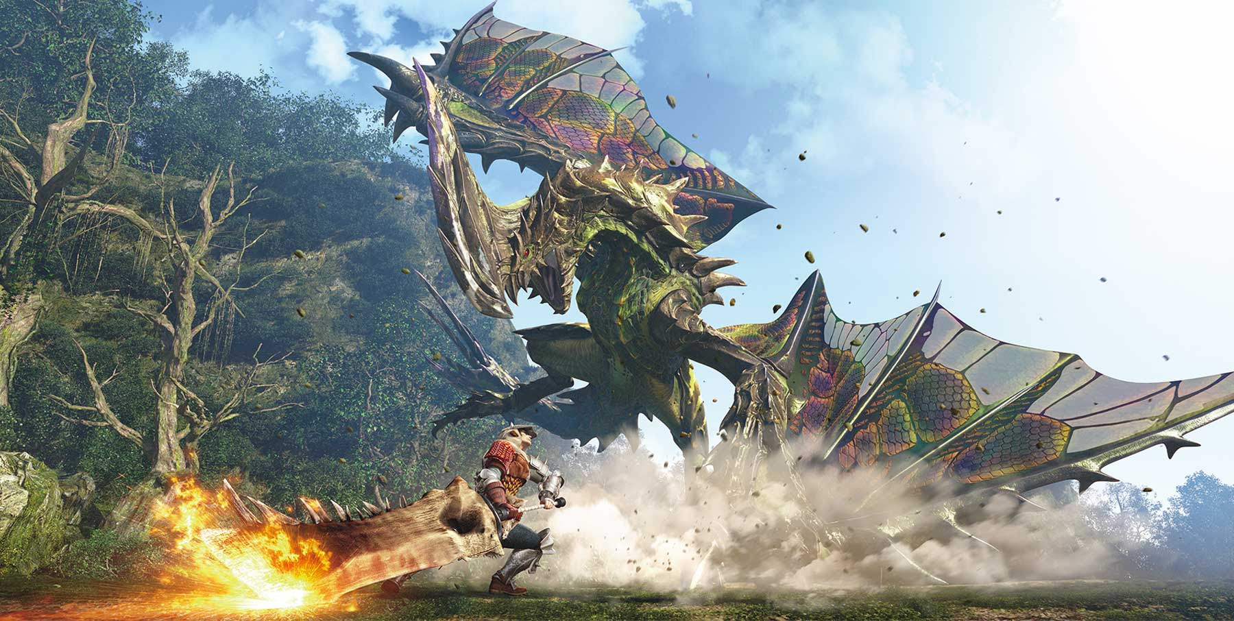 To hunt a God: The hidden appeal and payoff of Monster Hunter screenshot