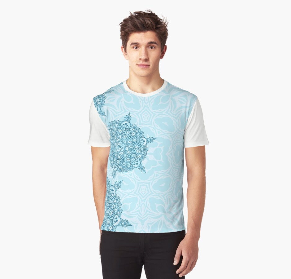 http://www.redbubble.com/people/torriphoto/works/23551426-winter-design-with-abstract-snowflakes?p=mens-graphic-t-shirt&style=mens-graphic-t-shirt&body_color=white