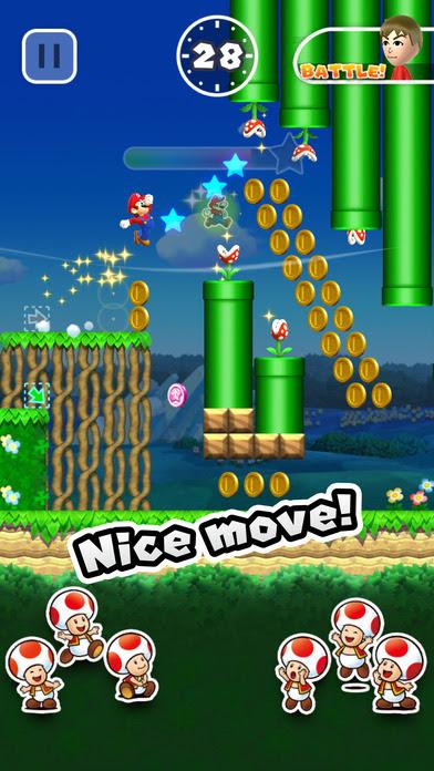 chơi game Super Mario Run cho ipad ios