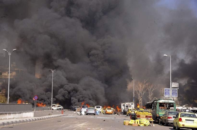 Estalla un coche bomba en Damasco