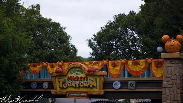 Disneyland Resort, Disneyland, Mickey's Toon Town, ToonTown, Halloween Time