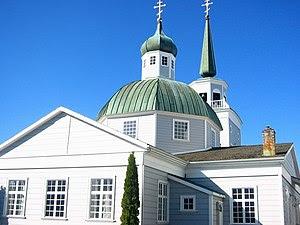Russian Orthodox Church, Sitka, Alaska.