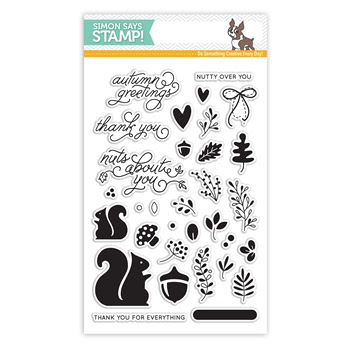 Simon Says Clear Stamps NUTTY OVER YOU sss101658