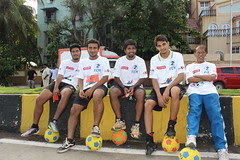 Marziya Shakir 4 Year Old Shot The Football Marathon 2012 Carter Road Bandra by firoze shakir photographerno1