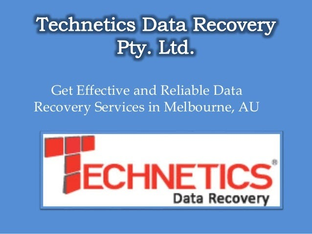 Data Recovery Services Melbourne