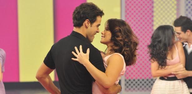 """Joaquim Lopes e Samara Felippo no quadro """"As Melhores Provas do Lata Velha de Todos os Tempos"""" (3/3/12)"""