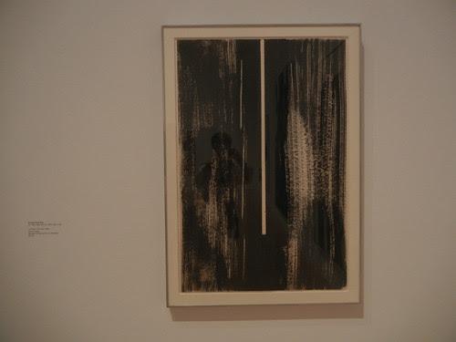 DSCN8755 _ Untitled (The Cry), 1946, Barnett Newman (1905-1970), MOCA