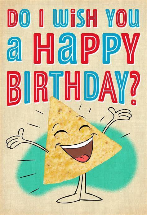 Nacho Chips Musical Birthday Card   Greeting Cards   Hallmark