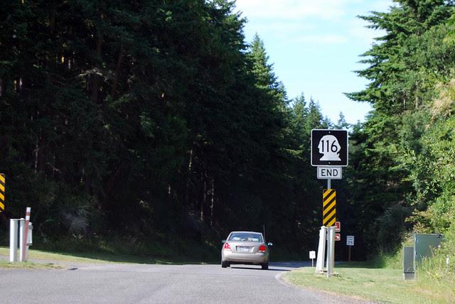 SR 116 @ Fort Flagler