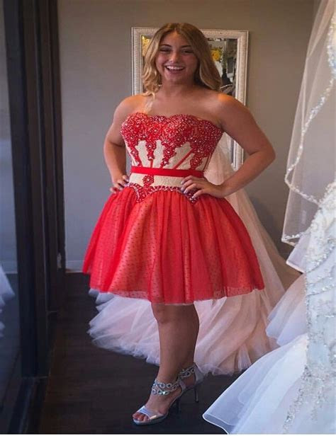 Find More Homecoming Dresses Information about Plus Size
