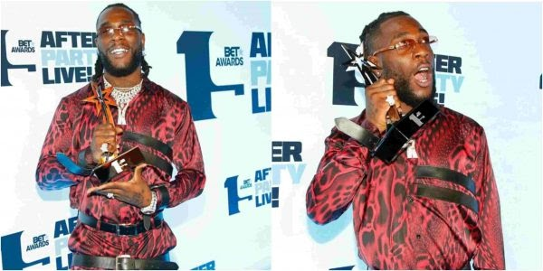 """I Went For A Drink"" – Burna Boy Speaks On His Absence On Stage To Receive BET Award"