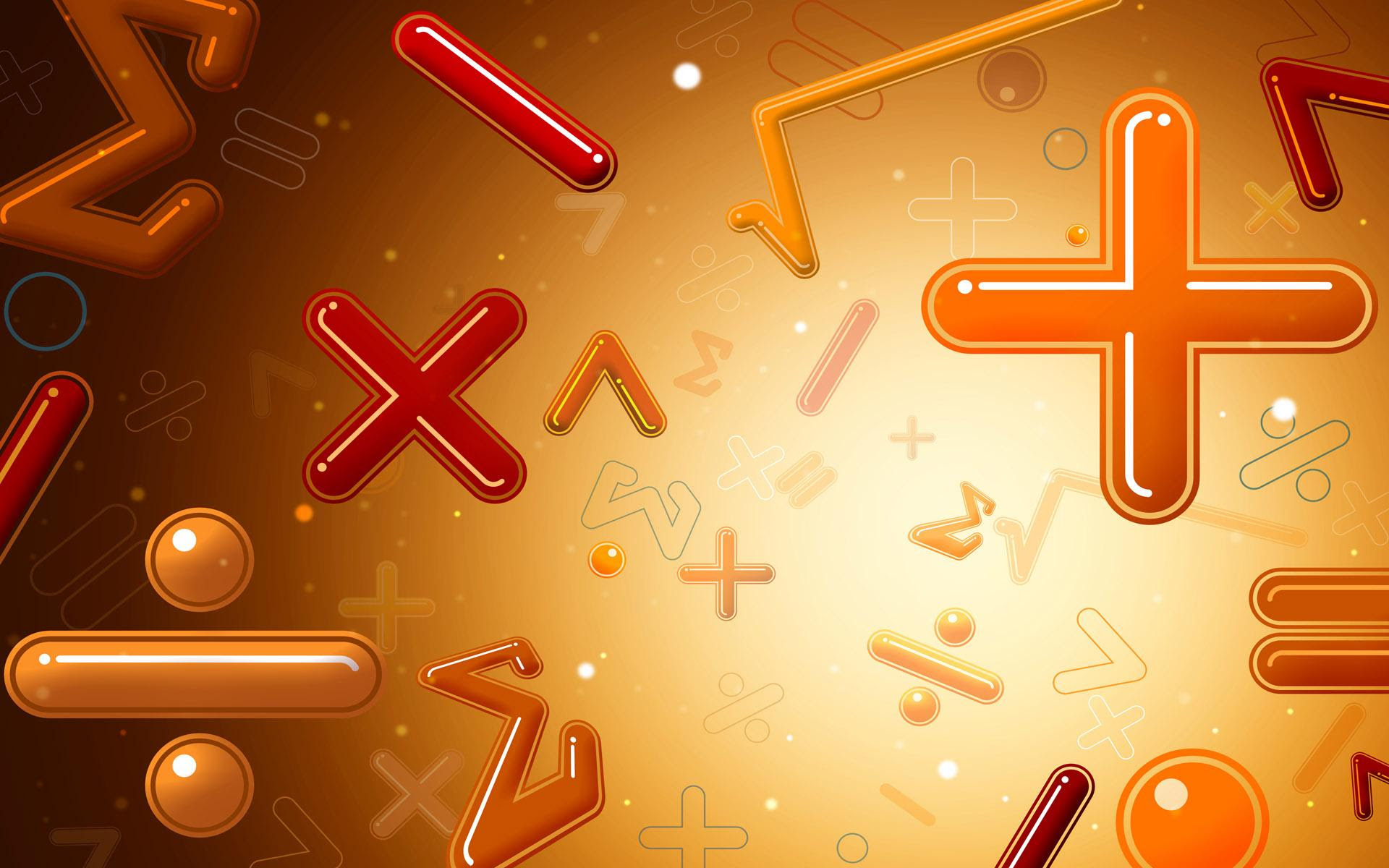 Free Math Background for Powerpoint Slides