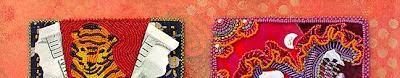 bead journal project, Robin Atkins, finishing detail