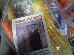 settlers sweet carrots