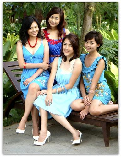 Miss Astro 2008 ~ Kelly, Kamen, Carine & Queen