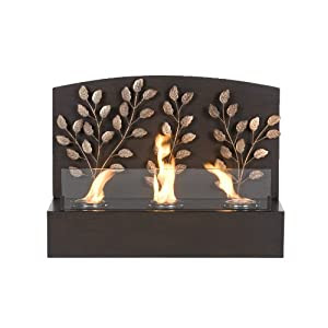 Amazon.com: Southern Enterprises Vine Wall Mount Fireplace: Home ...