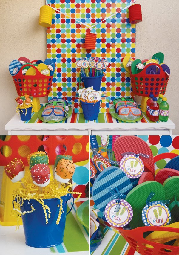 Schools Out Summer Pool Party Ideas Hostess With The Mostess