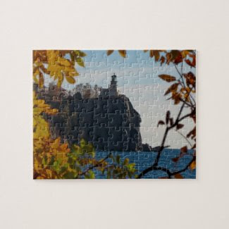 Autumn at Split Rock Lighthouse Puzzle
