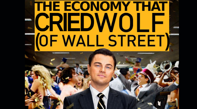 The Economy The Wolf Cried About  Wall Street deep dive