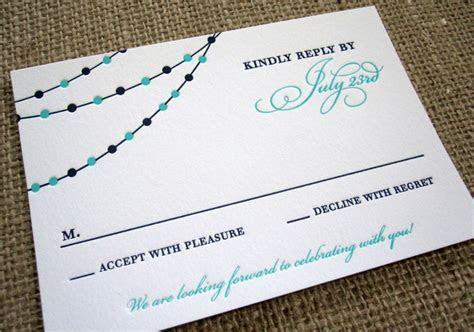 RSVP Card Insight & Etiquette   Every Last Detail
