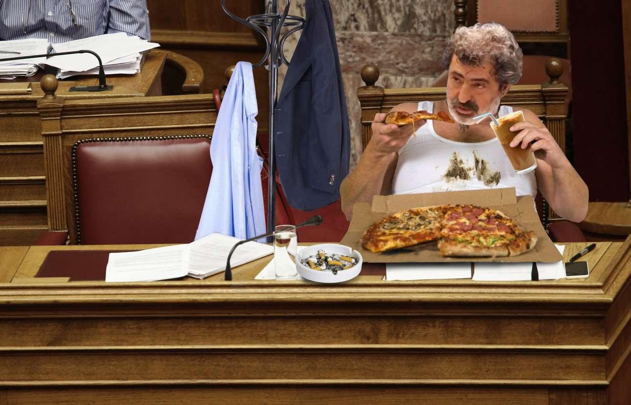 Αποτέλεσμα εικόνας για Ο χοιροβοσκός ΚΑΙ υπουργός Πολάκης