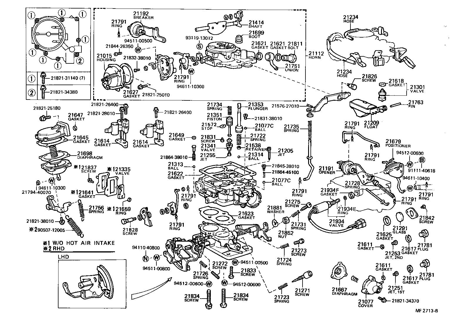 Toyotum 2 7 Engine Diagram