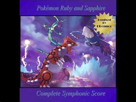 pokemon ruby  sapphire symphonic score routes