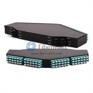 144 Ports 10G OM3 24-fibers MPO/MTP Ultra High Density 1U Rack