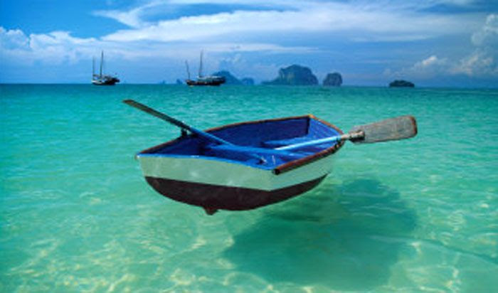 The Andaman Sea.
