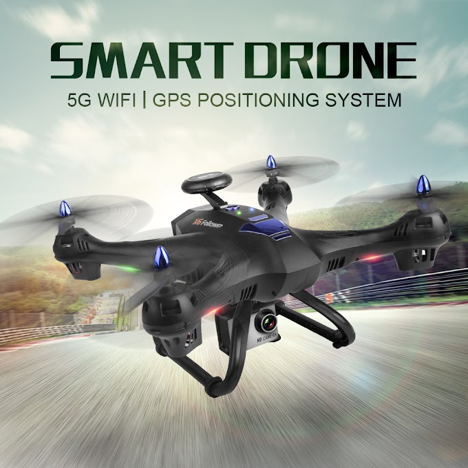 Drone GPS X183 5G WiFi Professional Dual Follow Me Quadrocopter with Camera HD RTF FPV Helicopter RC Quadcopter VS X8PRO