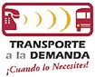 Logotipo Transporte a la Demanda - ¡Cuando lo necesites!