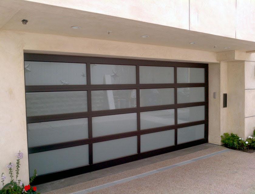 Modern Contemporary Garage Doors Aluminum and Glass Modern Garage Doors Frosted Glass Windows Modern Garage Doors In Scarborough Ontario by modern doors