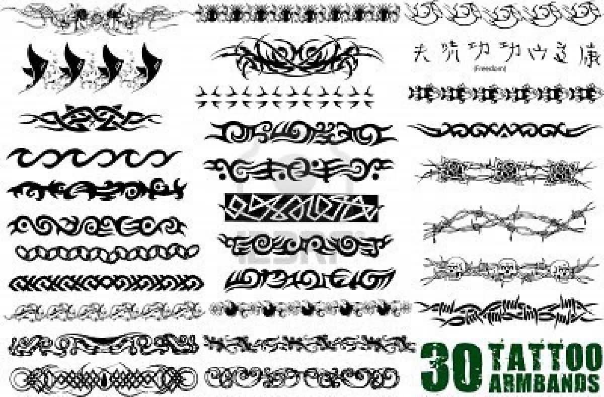Tattoo Design For Men Hand Band