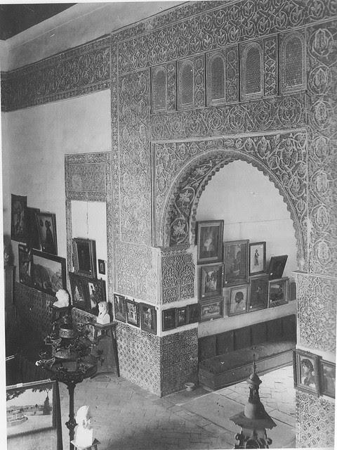 Casa de Mesa a principios del siglo XX. Fotografía Rodríguez