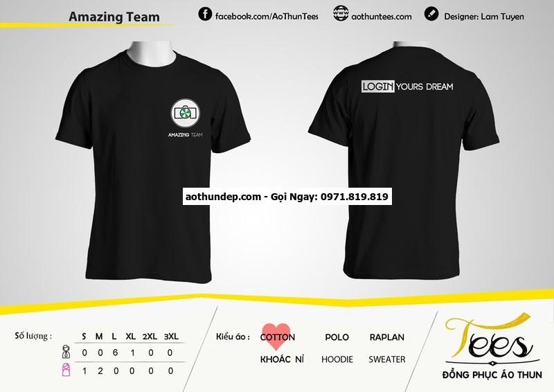áo lưới teambuilding