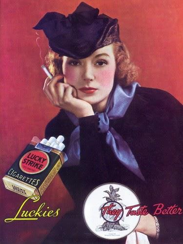 art deco actress greer garson quotlucky strikequot ad 1935