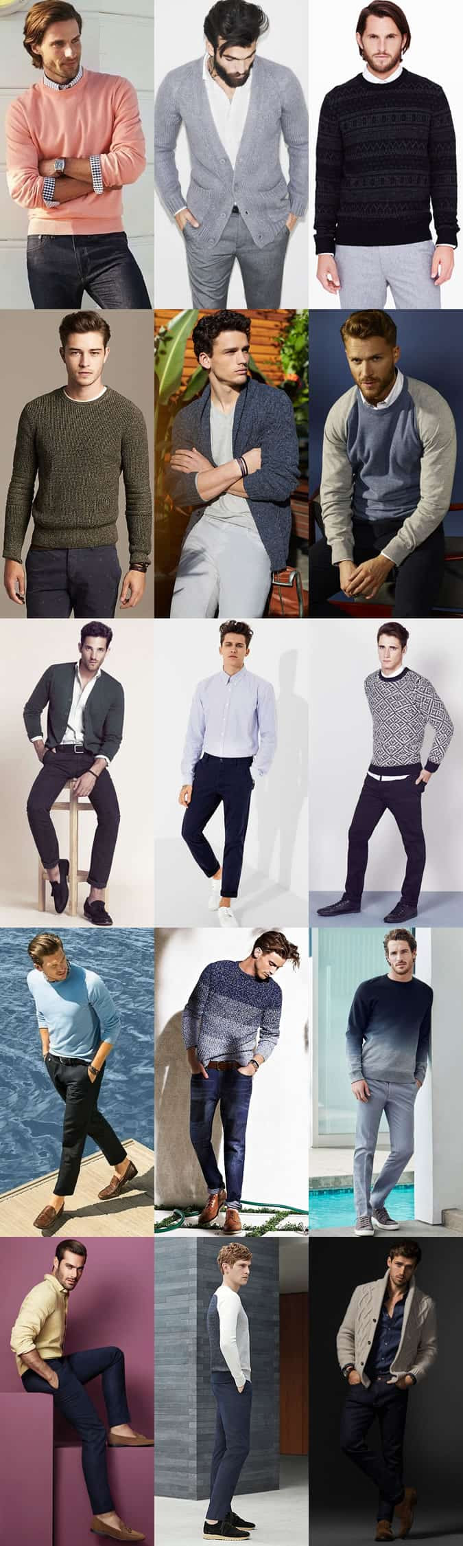 Men's Date Outfit Inspiration Lookbook - The Home Date
