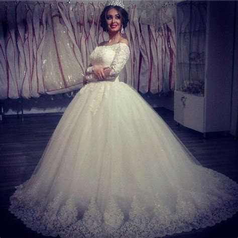 Ball Gown Wedding Dresses 2016, Saudi Arabia Wedding Gowns