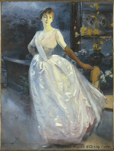 Madame Roger Jourdain, Albert Besnard 1886