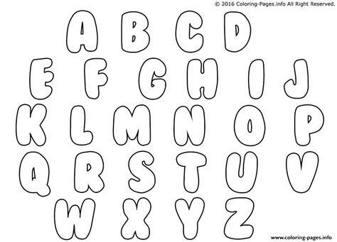bubble letters coloring pages printable