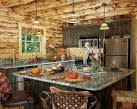 Rustic Cabin Kitchen Country Log Homes Rich Frutchey Photo#7 ...