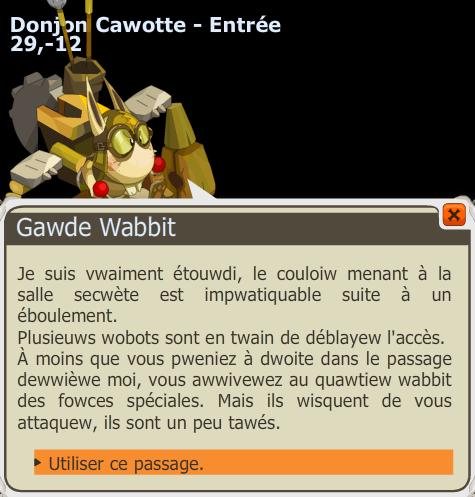 Chemin Pour Aller Au Chateau Du Wa Wabbit