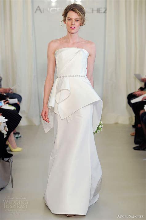 Angel Sanchez 2014 Wedding Dresses   Wedding Inspirasi