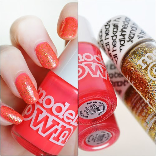 Models Own Hedkani Disco Heaven swatch Pink Punch