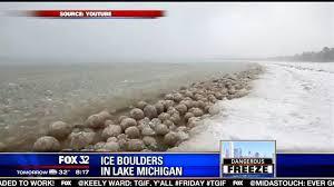 bolas de gelo de notícias lakeshore