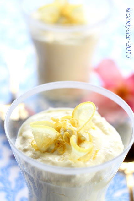 citronfromage-mousse limone