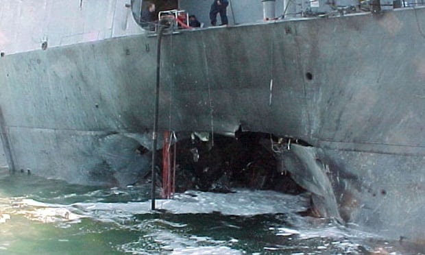 The USS Cole.