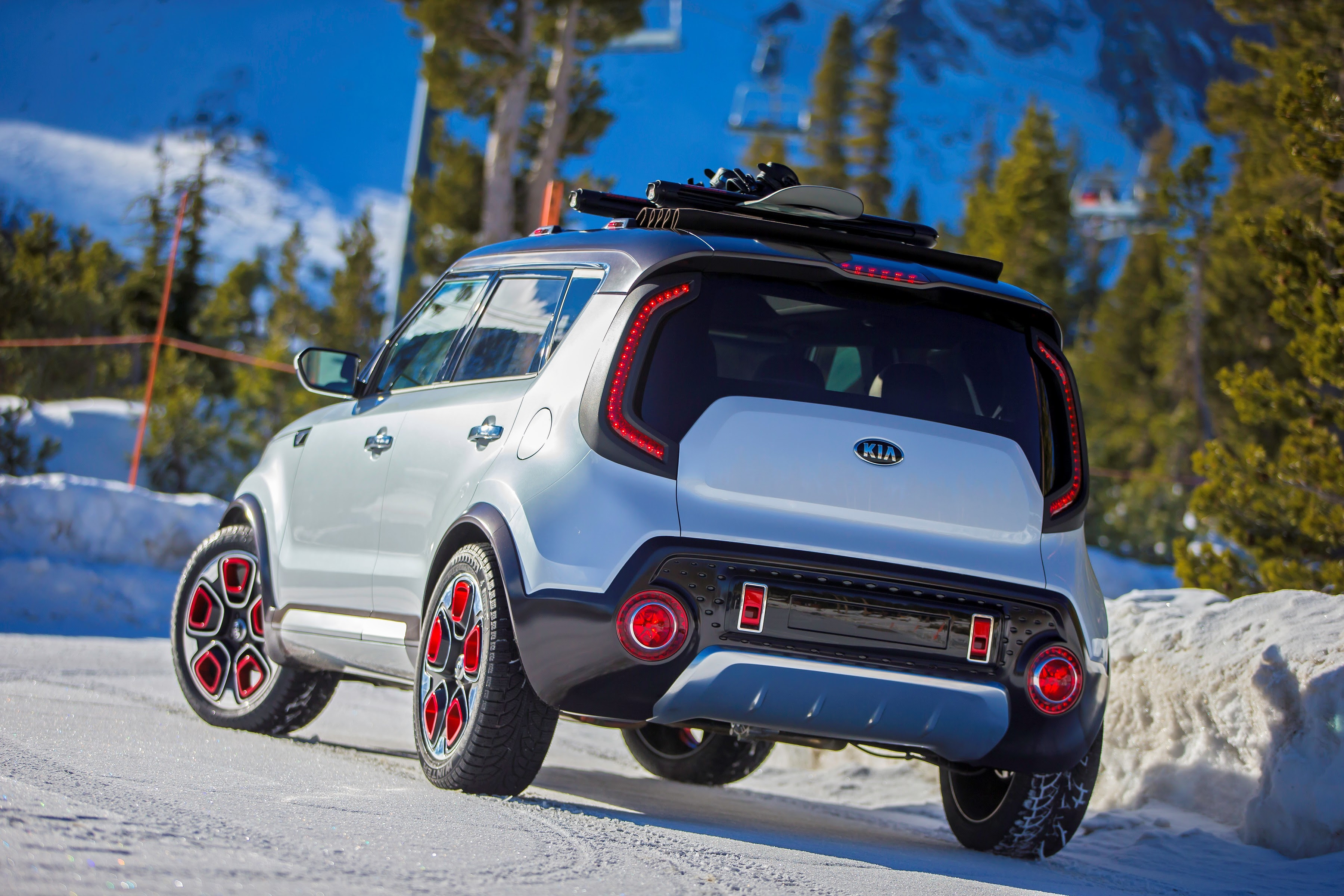 kia trail'ster concept steals your soul with eawd and a