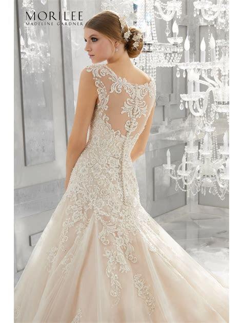 Mori Lee 8174 MONIQUE Timeless Classic Style Wedding Dress
